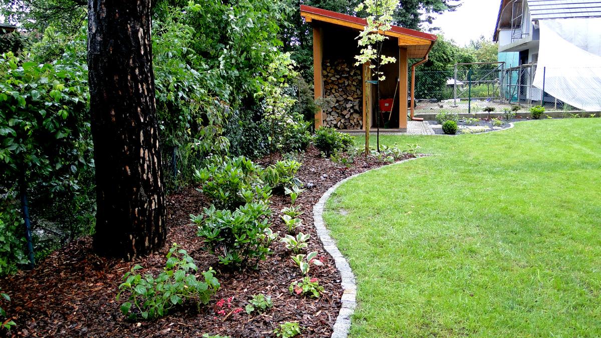 Ogród w Oławie