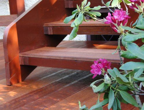 Taras na konstrukcji drewnianej, Oborniki Śląskie